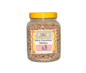 A Jar of Mint Chocolate Nibbles - 1.5Kg Jar