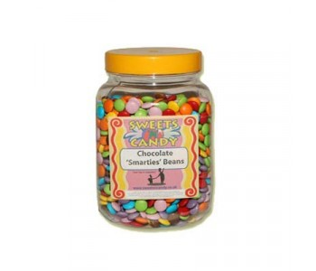 A Jar of Chocolate Beans (Similar to Smarties) - 2 Kg Jar