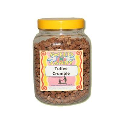 A Jar of Toffee Crumble - 1.5 Kg Jar
