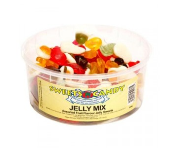 Jelly Mix Assorted Jelly sweets - 1.5 Ltr Tub - 750g