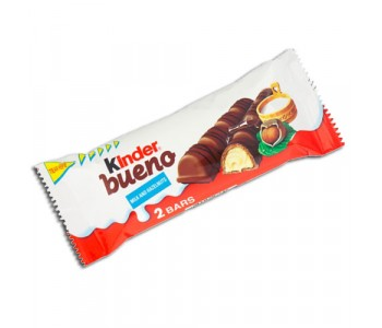 Kinder Bueno Milk and Hazelnut Chocolate Bar - 30 Pack