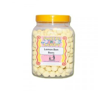 A Jar of Lemon Flavoured Bon Bons - 1.5Kg Jar