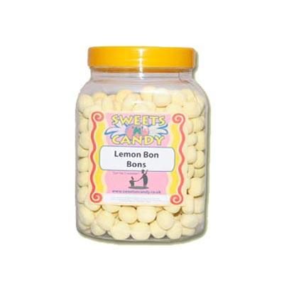 A Jar of Lemon Flavoured Bon Bons - 1.5Kg Jar