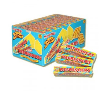 Refreshers Lemon Flavour Chews - 36 Pack