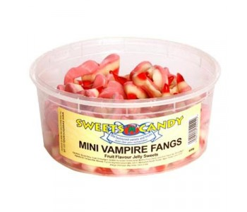 Mini Vampire Fangs - 1.5 Ltr Tub - 600g