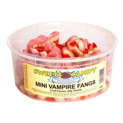 Mini Vampire Fangs - 1.5 Ltr Tub - 600g