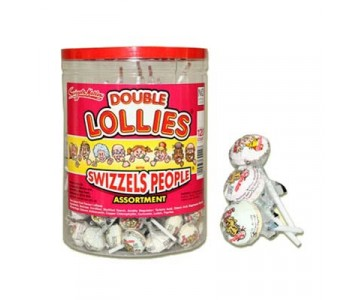 Swizzels People Double Lollipops - 120 Pack