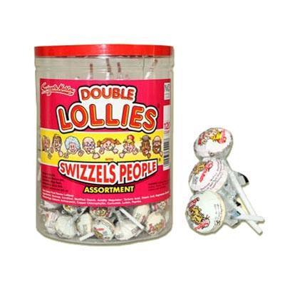 Swizzels People Double Lollipops - 120 Pack