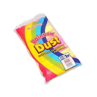 Rainbow Dust Straws - 240 Pack