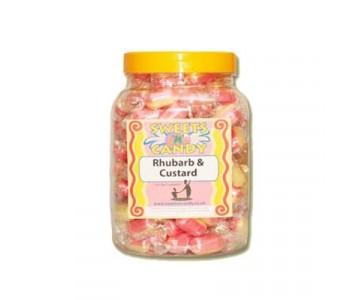 A Jar of Rhubarb & Custards - 1.3Kg Jar