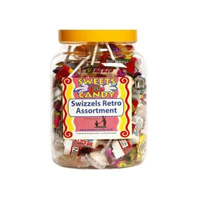 Swizzels Retro Sweets Assortment - 1Kg Jar