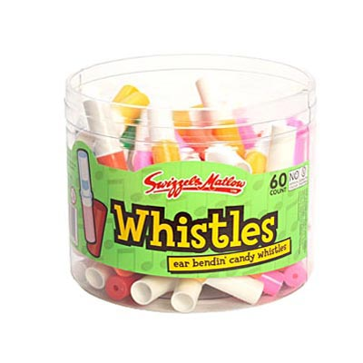 Swizzels Candy Whistles - 60Pack