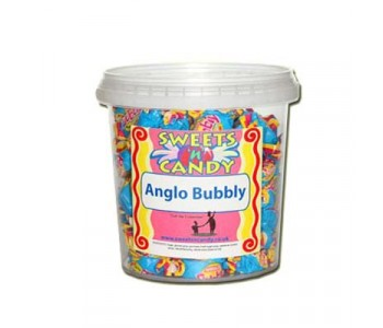 Anglo Bubbly Bubble Gum - 510g Tub
