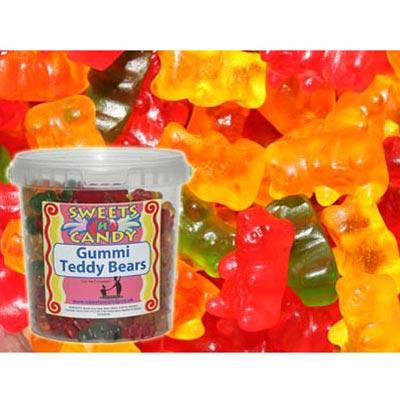 Gummi Teddy Bears - 750g Tub