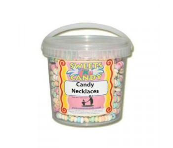 Candy Necklaces In A Tub - 1Ltr Tub -25 Candy Necklaces