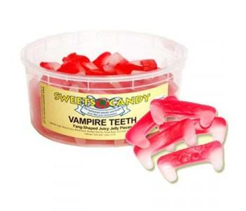 Vampire Teeth Fruit Flavoured Jellies - 1.5Ltr Tub - 600g