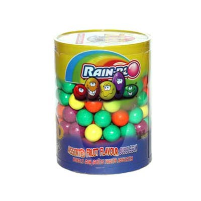 Rain-blo Assorted Fruit Flavoured Bubble Gum - 180 Pack