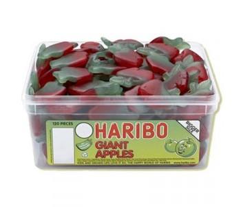 Haribo Giant Apples - 120 Pack