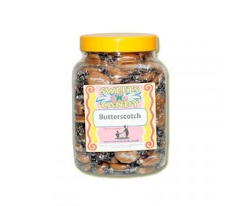 A Jar of Creamy Butterscotch Toffee - 1.3 Kg Jar