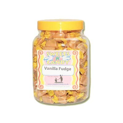 A Jar of Creamy Vanilla Fudge - 1.4Kg Jar