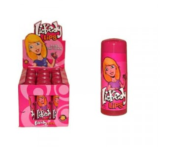 Lickedy Lips Fruity Licks - 12 Pack
