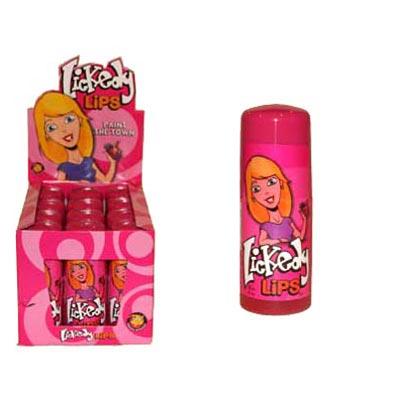 Lickedy Lips Fruity Licks - 12 Pack