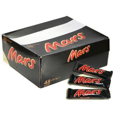 Mars Bars - 48 x 51g Pack