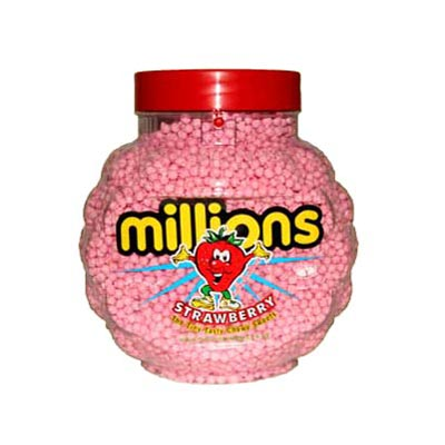Millions - Strawberry Chewy Sweets - 2.27 Kg Jar