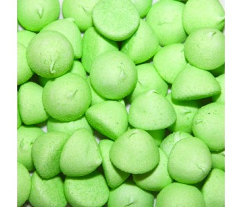 Paint Balls Sugar Coated Green Marshmallows - 900g Bulk Pack