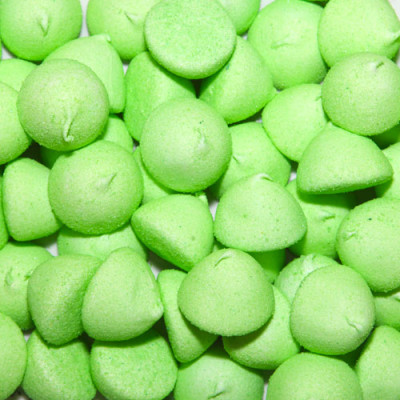Paint Balls Sugar Coated Green Marshmallows - 900g Bulk Pack