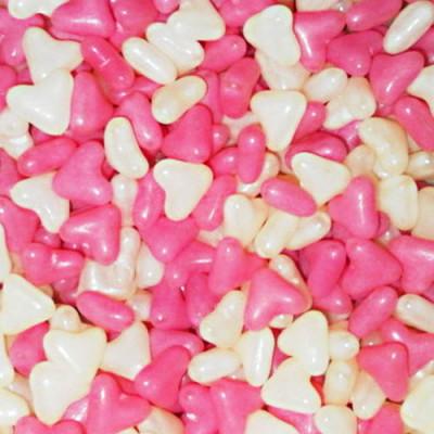 Barratt Pink and White Hearts - 3Kg Bulk Pack