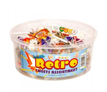 Swizzels Retro Sweets Assortment - 600g Tub