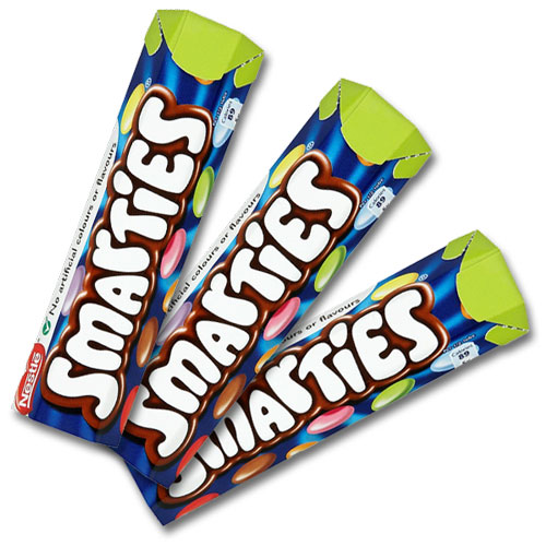 Smarties In Tubes 48 Pack Sweets N Candy Online