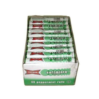 Trebor Soft Mints - 40 Pack
