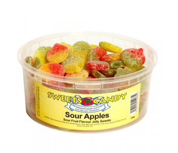 Sour Apples Fruit Flavour Jellies - 750g Tub