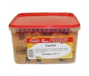 Old English Vanilla Fudge - 2 Kg Pack