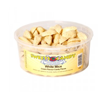 White Chocolate Flavour Mice - 750g Tub